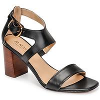 Schoenen Dames Sandalen / Open schoenen JB Martin NAWELI Zwart