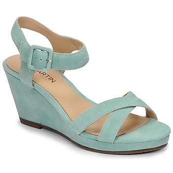 Schoenen Dames Sandalen / Open schoenen JB Martin QUERIDA Blauw