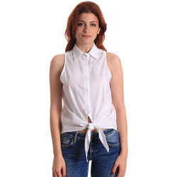 Textiel Dames Tops / Blousjes Fornarina SE174573CA1609 Wit