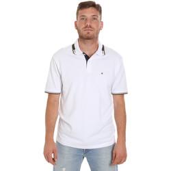 Textiel Heren Polo's korte mouwen Les Copains 9U9021 Wit