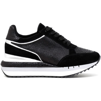 Schoenen Dames Lage sneakers Café Noir DN626 Zwart