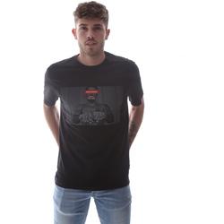 Textiel Heren T-shirts korte mouwen Sprayground 21SFW004 Zwart