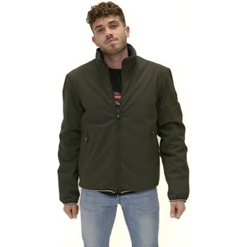 Textiel Heren Fleece Navigare NV67076 Groen