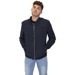 Textiel Heren Wind jackets Les Copains 9UB081 Blauw