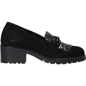 Schoenen Dames Mocassins Grunland SC2967 Zwart