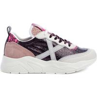 Schoenen Dames Lage sneakers Munich 8770042 Roze
