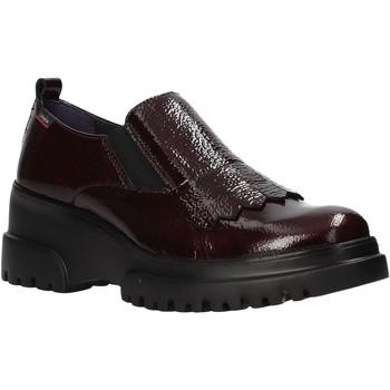 Schoenen Dames Mocassins CallagHan 27206 Rood