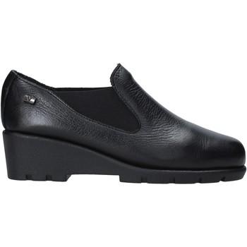 Schoenen Dames Mocassins Valleverde 36180 Zwart