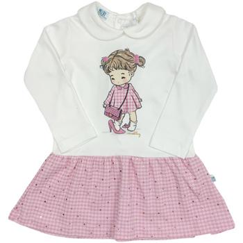 Textiel Meisjes Korte jurken Melby 20A0011 Wit