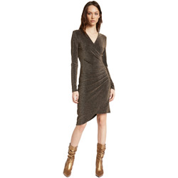 Textiel Dames Korte jurken Gaudi 021FD14003 Goud