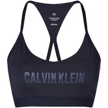 Textiel Dames Sport BHs Calvin Klein Jeans 00GWT0K117 Zwart
