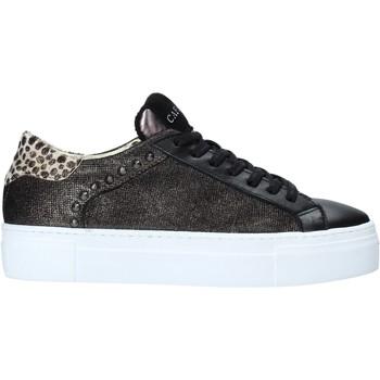 Schoenen Dames Lage sneakers Café Noir DF523 Zwart
