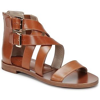 Schoenen Dames Sandalen / Open schoenen Michael Kors ECO LUX Brown