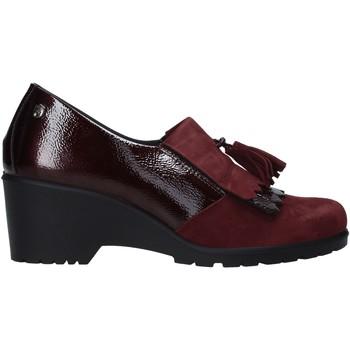 Schoenen Dames Mocassins Enval 6276322 Rood