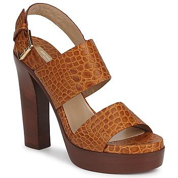 Schoenen Dames Sandalen / Open schoenen Michael Kors MATISSE LUX Brown