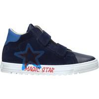 Schoenen Kinderen Lage sneakers Naturino 2015394 01 Blauw