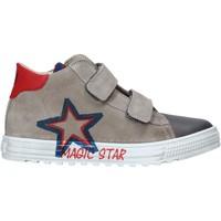 Schoenen Kinderen Hoge sneakers Naturino 2015394 01 Grijs