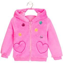 Textiel Meisjes Vesten / Cardigans Losan 026-0000AL Roze