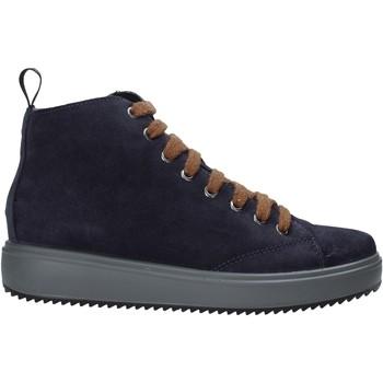 Schoenen Dames Hoge sneakers IgI&CO 6162233 Blauw