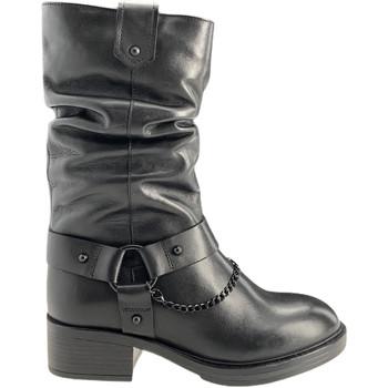 Schoenen Dames Hoge laarzen Apepazza F0BEATRIX01/LEA Zwart