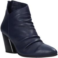 Schoenen Dames Enkellaarzen Bueno Shoes 20WR1400 Blauw