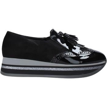 Schoenen Dames Mocassins Grace Shoes GLAM004 Zwart
