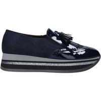 Schoenen Dames Mocassins Grace Shoes GLAM004 Blauw