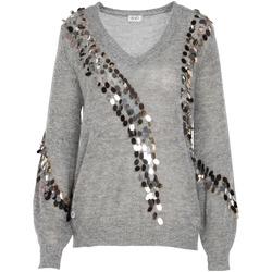 Textiel Dames Truien Liu Jo MF0014 MA63J Grijs