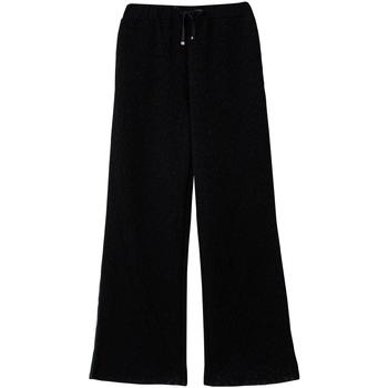 Textiel Dames Broeken / Pantalons Liu Jo TF0168 J6087 Zwart