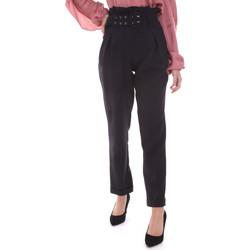Textiel Dames Chino's Gaudi 021FD25013 Zwart