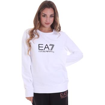 Textiel Dames Sweaters / Sweatshirts Ea7 Emporio Armani 8NTM39 TJ31Z Wit