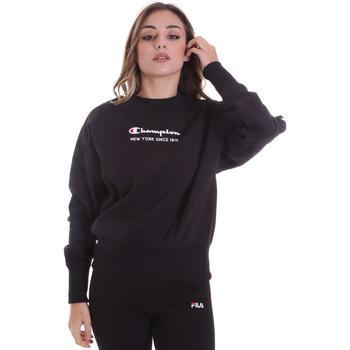 Textiel Dames Sweaters / Sweatshirts Champion 113314 Zwart