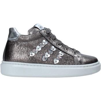 Schoenen Kinderen Hoge sneakers NeroGiardini I021543F Zilver