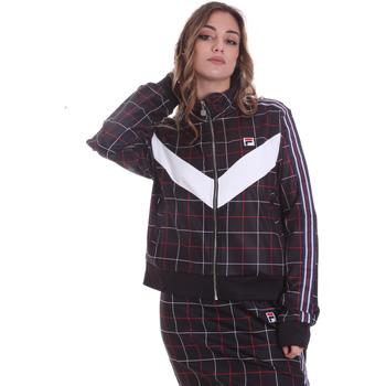 Textiel Dames Trainings jassen Fila 687850 Zwart