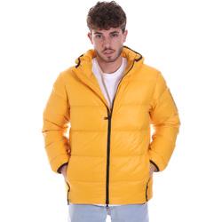 Textiel Heren Dons gevoerde jassen Ea7 Emporio Armani 6HPB53 PNR4Z Geel