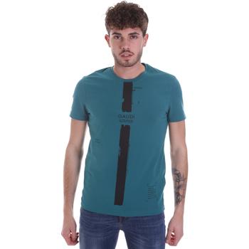 Textiel Heren T-shirts korte mouwen Gaudi 021GU64035 Groen