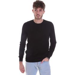 Textiel Heren Truien Gaudi 021GU53001 Zwart