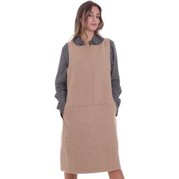 Textiel Dames Korte jurken Calvin Klein Jeans K20K202451 Beige