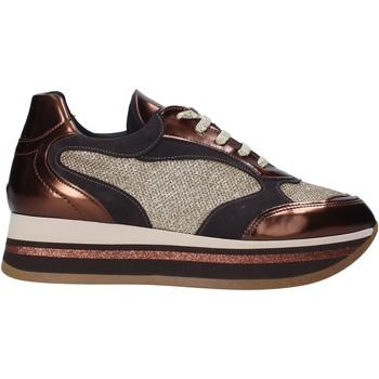 Schoenen Dames Lage sneakers Grace Shoes GLAM001 Bruin