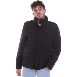 Textiel Heren Dons gevoerde jassen Gaudi 021GU35004 Zwart