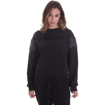 Textiel Dames Sweaters / Sweatshirts Freddy F0WTBS1 Zwart