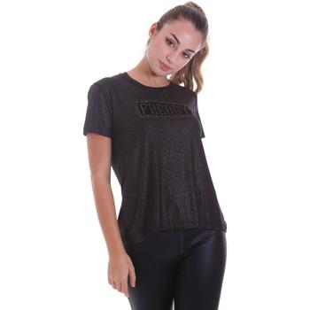 Textiel Dames T-shirts korte mouwen Freddy F0WALT2 Zwart