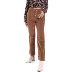 Textiel Dames 5 zakken broeken Liu Jo WF0312 T4590 Bruin