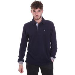 Textiel Heren Polo's lange mouwen Navigare NV32023 Blauw