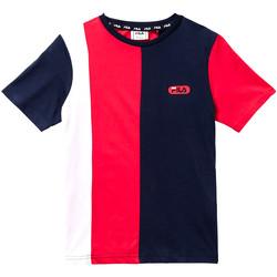 Textiel Kinderen T-shirts korte mouwen Fila 688008 Rood