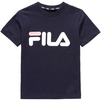 Textiel Kinderen T-shirts korte mouwen Fila 688021 Blauw