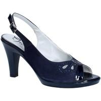 Schoenen Dames pumps Grace Shoes E8174 Blauw
