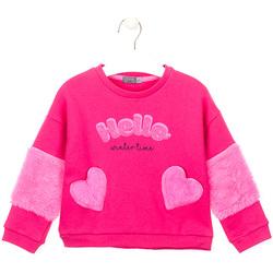 Textiel Meisjes Sweaters / Sweatshirts Losan 026-6023AL Roze