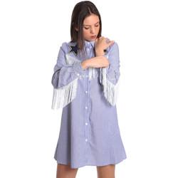 Textiel Dames Korte jurken Denny Rose 811DD10018 Blauw