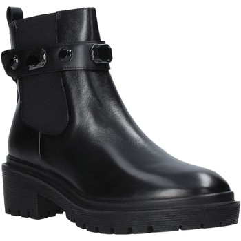Schoenen Dames Enkellaarzen Apepazza F0COMBAT08/DIA Zwart